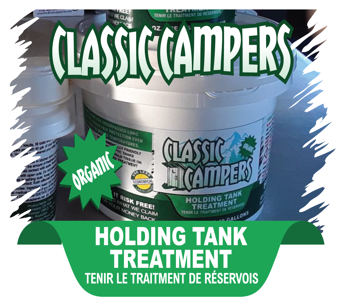 Classic Camper - Holding Tank Treatment